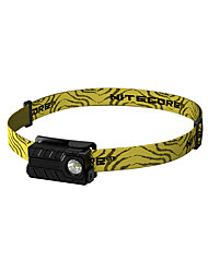 cheap -Nitecore Headlamps Headlight LED 360/220/40/1 lm 4 Mode XP-G2 with Battery and USB Cable Water Resistant / Water Proof Wearproof Light