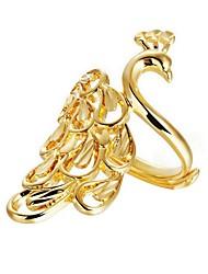 preiswerte -Damen Kubikzirkonia vergoldet - Erklärung Gold Ring Für Hochzeit