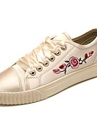 economico -Da donna Scarpe Di corda Inverno Comoda Sneakers Punta tonda Per Casual Nero Beige Rosa