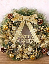 baratos -1pç Natal Enfeites de Natal, Decorações de férias 50*50