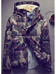 cheap -Men's Street chic Padded - Camouflage