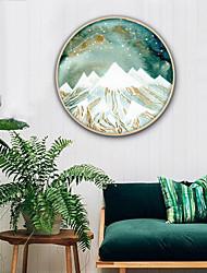 economico -Paesaggio Fantasia Illustrazioni Decorazioni da parete,PVC Materiale con cornice For Decorazioni per la casa Cornice Salotto Cucina Sala