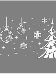 Noël Stickers muraux Stickers Autocollants muraux décoratifs Matériel Décoration d'intérieur Calque Mural