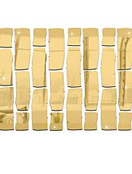 Espelhos Moda Formas Adesivos de Parede Autocolantes 3D para Parede Autocolantes de Parede Espelho Autocolantes de Parede Decorativos,
