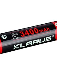 cheap -KLARUS 3400mAh Battery Portable Professional Easy Carrying High Quality Lightweight for 18650 Li-ion