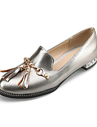 Women's Shoes Patent Leather Customized Materials All Season Comfort Novelty Loafers & Slip-Ons Round Toe For Party & Evening Dress Pink