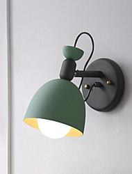economico -Moderno / Contemporaneo Lampade da parete Salotto / Camera da letto Metallo Luce a muro 110-120V / 220-240V 40W