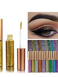 cheap -1Pcs Rainbow Colors Eyeshadow Glitter Long Lasting Waterproof Eyeshadow Eyeliner Makeup