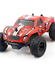 preiswerte -RC Auto K24-2 2.4G Truggy High-Speed 4WD Treibwagen Buggy SUV Monster Truck Bigfoot Rennauto 1:24 Bürster Elektromotor 45 KM / H