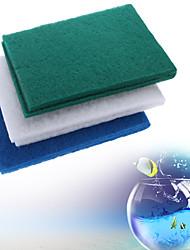 Недорогие -Аквариумы Наполнитель фильтра Хлопко-полимерная смешанная ткань
