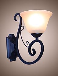 economico -Tradizionale / Classico Lampade da parete Metallo Luce a muro 110-120V / 220-240V 60W