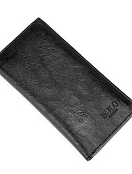 cheap -Men Bags PU Wallet Zipper for Casual All Season Black Brown