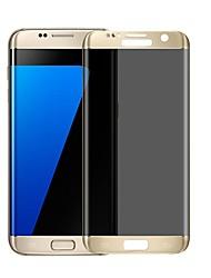 Недорогие -Защитная плёнка для экрана для Samsung Galaxy S7 edge Закаленное стекло 1 ед. Защитная пленка на всё устройство Взрывозащищенный Защита