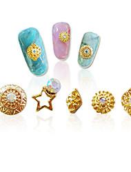 economico -1 Perline diamantini decorativi per unghie Brillante Fantasie design per manicure
