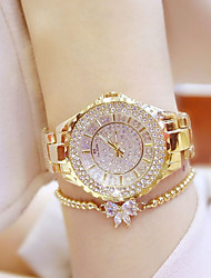 cheap -Women's Wrist watch Fashion Watch Japanese Quartz Casual Watch Stainless Steel Band Charm Silver Gold