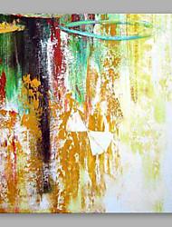 手描きの 抽象画 近代の 1枚 キャンバス ハング塗装油絵 For ホームデコレーション