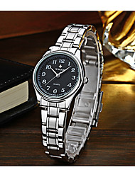 levne -WWOOR Dámské Náramkové hodinky Hodinky k šatům Módní hodinky Hodinky na běžné nošení Křemenný Kalendář Nerez Kapela Na běžné nošení Cool