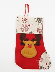 Accessoires de Célébrations Décorations de Noël Articles pour Célébrer Noël Jouets Chaussettes Elk Vacances Vacances Costumes de père noël