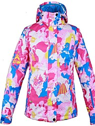 cheap -Women's Ski Jacket Warm, Ventilation, Windproof Ski / Snowboard / Multisport / Winter Sports Polyester Down Jacket Ski Wear