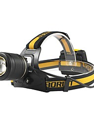 economico -Boruit® B18 Torce frontali LED 400 lm 3 Modo Cree XM-L L2 Professionale Regolabili Alta qualità Campeggio/Escursionismo/Speleologia Uso