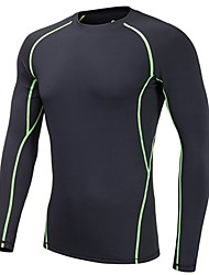 cheap -Men's Ski Base Layer Quick Dry Outdoor Exercise Multisport Back Country Elastane Polyster