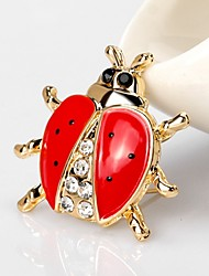 cheap -Women's Brooches Rhinestone Simple Hip-Hop Rhinestone Alloy Animal Gold Jewelry For Casual Festival