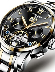 cheap -Men's Mechanical Watch Wrist watch Skeleton Watch Dress Watch Fashion Watch Chinese Automatic self-winding Calendar / date / day