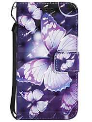 cheap -Case For Motorola MOTO Z Force Card Holder Wallet with Stand Flip Pattern Full Body Cases Butterfly Hard PU Leather for Moto Z Force Moto