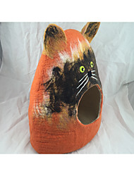 Недорогие -Собака Кровати Животные Коврики и подушки Оранжевый Для домашних животных