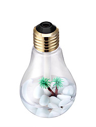 DP-001 Colorful Bulb Humidifier Home Air Purifier USB Charging