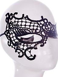 abordables -Masques d'Halloween Pour Halloween Accessoires d'Halloween Masques de Carnaval Masque en Dentelle Sexy Coiffure Thème jardin Nouveauté