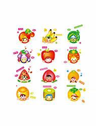 cheap -Cartoon Fashion Food Wall Stickers Plane Wall Stickers Decorative Wall Stickers,Vinyl Material Home Decoration Wall Decal