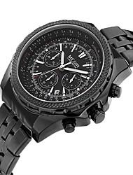 MEGIR Homens Relógio Casual Relógio de Moda Relógio Elegante Relógio de Pulso Quartzo Calendário Couro Banda Casual Legal