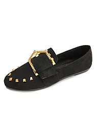 Women's Shoes PU Spring Summer Sandals Walking Shoes Pointed Toe Buckle For Black Camel