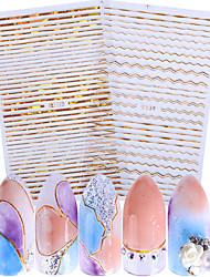 Autocollant d'art de clou Stickers Applique Autocollant Maquillage cosmétique Nail Art Design