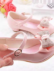 economico -Da ragazza Scarpe PU (Poliuretano) Tutte le stagioni Scarpe da cerimonia per bambine Tacchi Fiocco Per Casual Blu Rosa