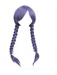 cheap -Cosplay Anime Wig Dongjo Hissing Purple Mixed Hot Wig 34inch