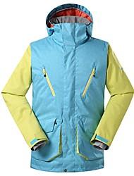 preiswerte -GSOU SNOW Herrn Skijacke Warm Wasserdicht Windundurchlässig tragbar Atmungsaktivität Skifahren Ski umweltfreundlich Polyester Seide