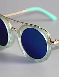 cheap -Unisex Glasses,Spring, Fall, Winter, Summer Resin with Metal Clip Blue Blushing Pink