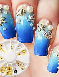 Недорогие -Украшения искусства ногтя ювелирных изделий Подвески Стандартный портсигар