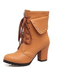 Femme Chaussures Matières Personnalisées Automne Hiver boîtes de Combat Confort Bottes de neige Bottes Cavalières Bottes à la Mode Bottes