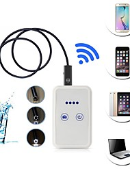 abordables -usb endoscopio cámara wifi endoscopio 6 led 9mm lente 10m cámara de tubo de boroscopio inspección impermeable para android ios