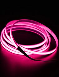 cheap -BRELONG® 3m String Lights 0 LEDs EL White / Red / Blue Waterproof / Self-adhesive 12 V 1pc