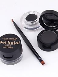 preiswerte -Concealer Eyeliner/Lidstrich Nass Mineral Schnell trocken Lang anhaltend Wasserdicht 1
