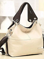 cheap -Women Bags PU Tote Zipper for Casual All Season Beige Dark Green Brown