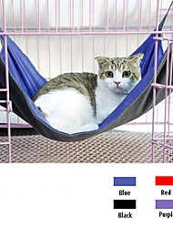 Cat Bed Pet Mats & Pads Solid Keep Warm Casual/Daily Blue Fuchsia Purple Black For Pets