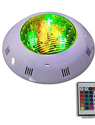 cheap -JIAWEN Underwater Lights 12W RGB LED Swimming Pool Light with Remote Controller AC12-24V