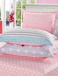 cheap -Comfortable Polyester Pillowcase Polka Dot Yarn Dyed