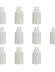 GU10 to E27 Quick Bulb Converter Bulb Accessory 10Pcs