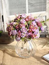 Недорогие -Искусственные Цветы 1 Филиал европейский Розы Букеты на стол